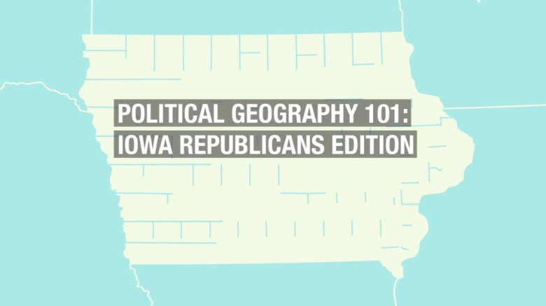 The five political regions of Iowa, explained