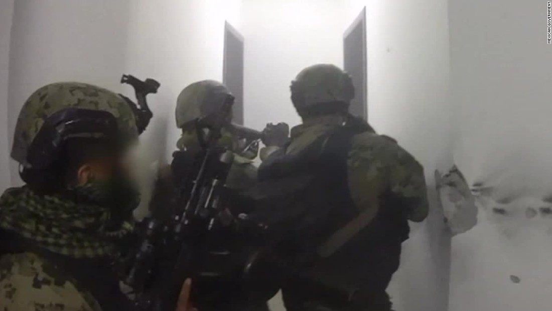 bullets fly in raid that nets  u0026 39 el chapo u0026 39