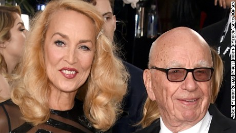 Who is Jerry Hall, Rupert Murdoch's new fiancee?