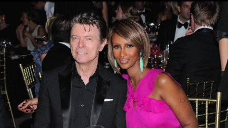 Iman met David Bowie on a blind date
