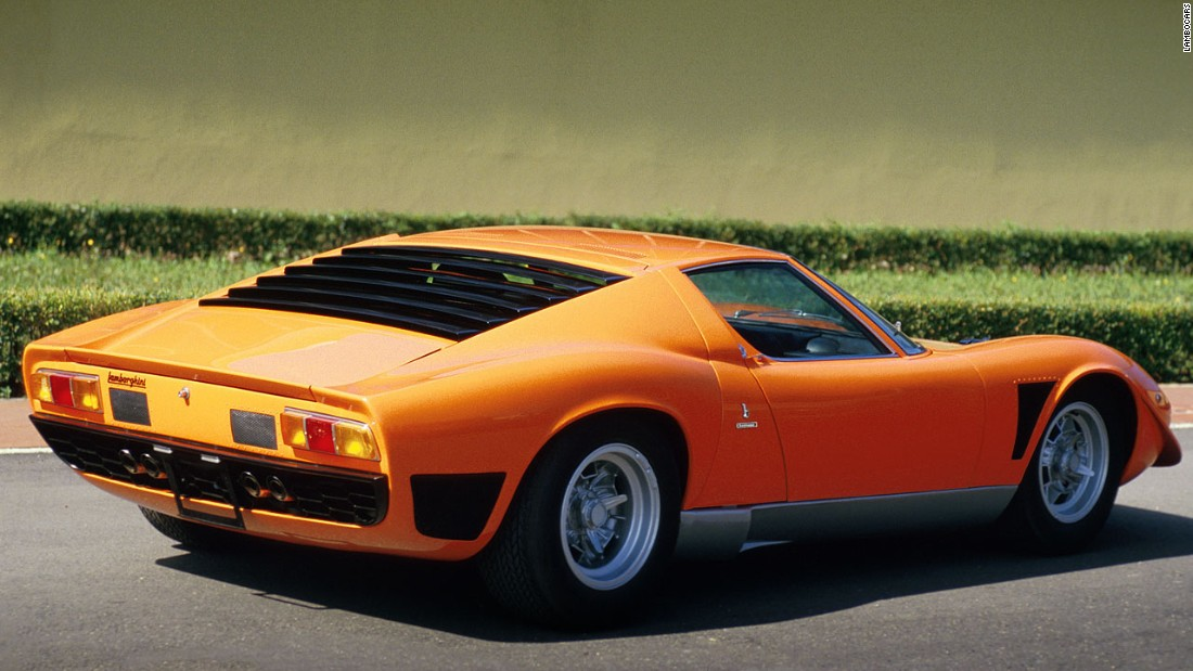 """You buy a Ferrari when you want to be somebody,"" said Frank Sinatra, who ordered a bright orange Miura for his 54th birthday. ""You buy a Lamborghini when you are somebody."""