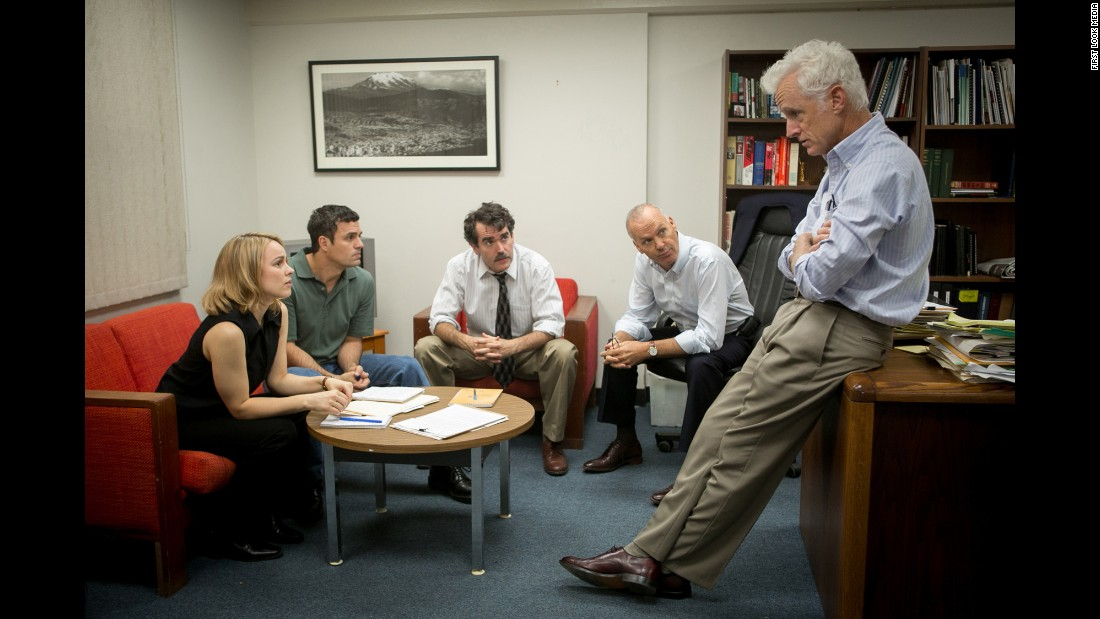 "<strong>Best original screenplay:</strong> ""Spotlight,"" pictured, ""Ex Machina,"" ""Bridge of Spies,"" ""Inside Out"" and ""Straight Outta Compton."""