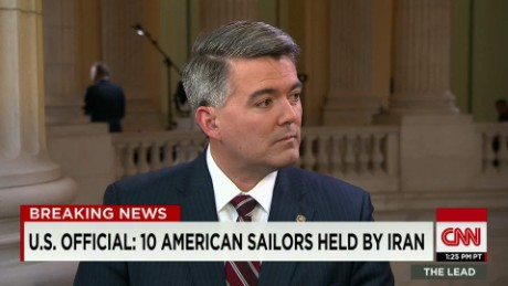 american sailors detained iran senator cory gardner lead tapper intv_00014316