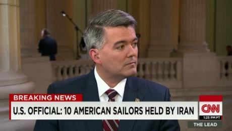 american sailors detained iran senator cory gardner lead tapper intv_00014316