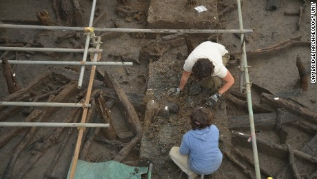 Archaeologists find village frozen in time