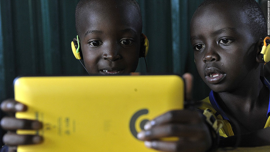 """The Academy currently teaches over 600 children and the Kio Kit, with its resilient and compact design is proving successful so far. Pastor George says: """"This kit is what is needed, especially here in African schools were electricity and space is a problem."""""""