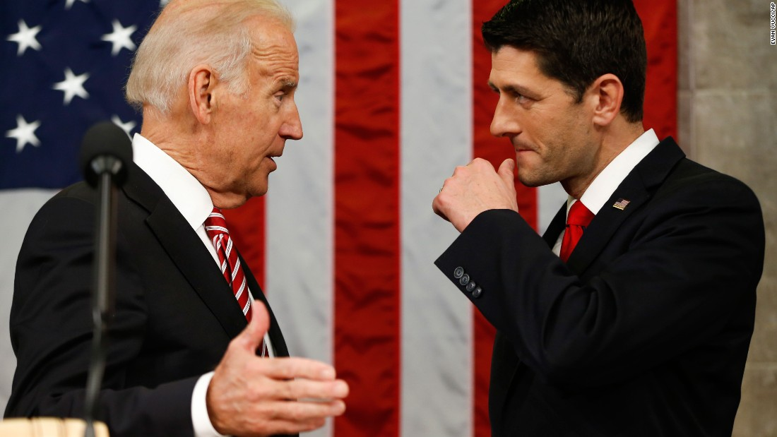 Tuesday's address before a packed House chamber  marked the debut of new House Speaker Ryan -- a longtime Obama rival -- on the platform alongside Vice President Biden.<br />