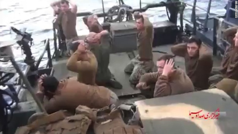 Navy to investigate treatment of U.S. sailors by Iran