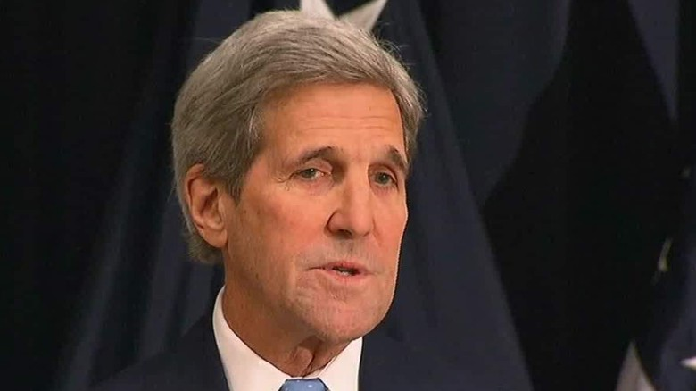Kerry thanks Iranian authorities for 'quick' response