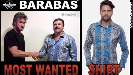 Las 'Chapo-camisas' imponen moda en EE.UU.