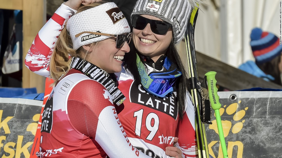 Gut enjoys closer ties with last year's overall winner Anna Fenninger, the Austrian who is sitting out this season because of injury.