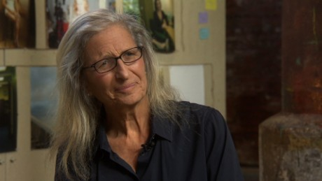 Christiane Amanpour intvs the photographer Annie Leibovitz