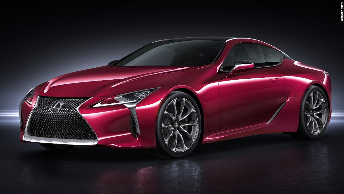 Four years after Lexus debuted its striking LFA and LC sport coupes, comes the dazzling LC500.