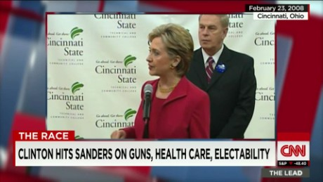 clinton press secy. on troubling polls, sanders lead intv_00004623