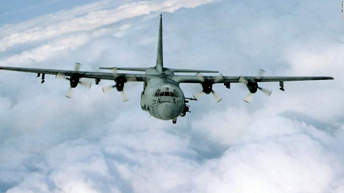 The AC-130H Spectre and the AC-130U Spooky gunships are designed for close air support, air interdiction and force protection. Armaments on the Spectre include 40mm and 105mm cannons. The Spooky adds a 25mm Gatling gun.