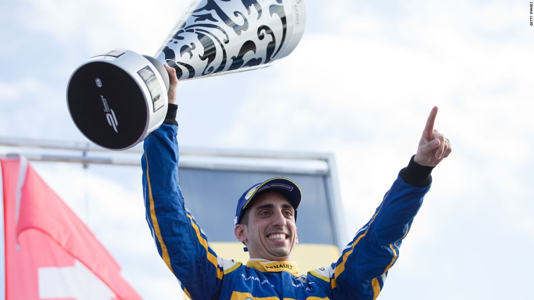 Buemi (pictured) won the previous round in Uruguay -- his second victory of the 2015-16 season.