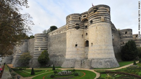 Château d'Angers, where the Apocalypse Tapestry is located.