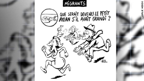 New Charlie Hebdo cartoon stirs controversy