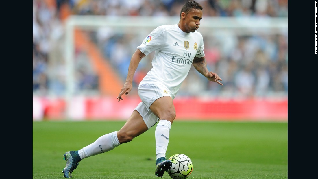 Real Madrid signed Brazilian right-back Danilo from Porto for $31.7 million in July 2015.