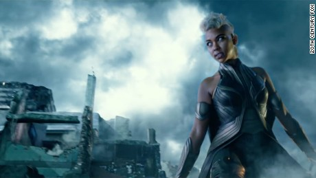 in X-Men: Apocalypse, popular character Storm is shown as one of Apocalypse's horsemen.