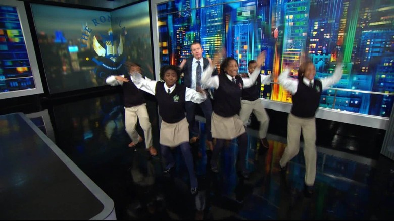 Ron Clark Academy kids dance to Bowie remix