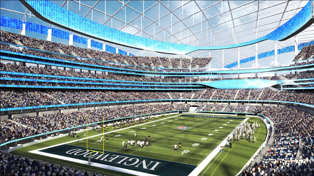 Los Angeles Rams' stadium to be world's most expensive - CNN.com