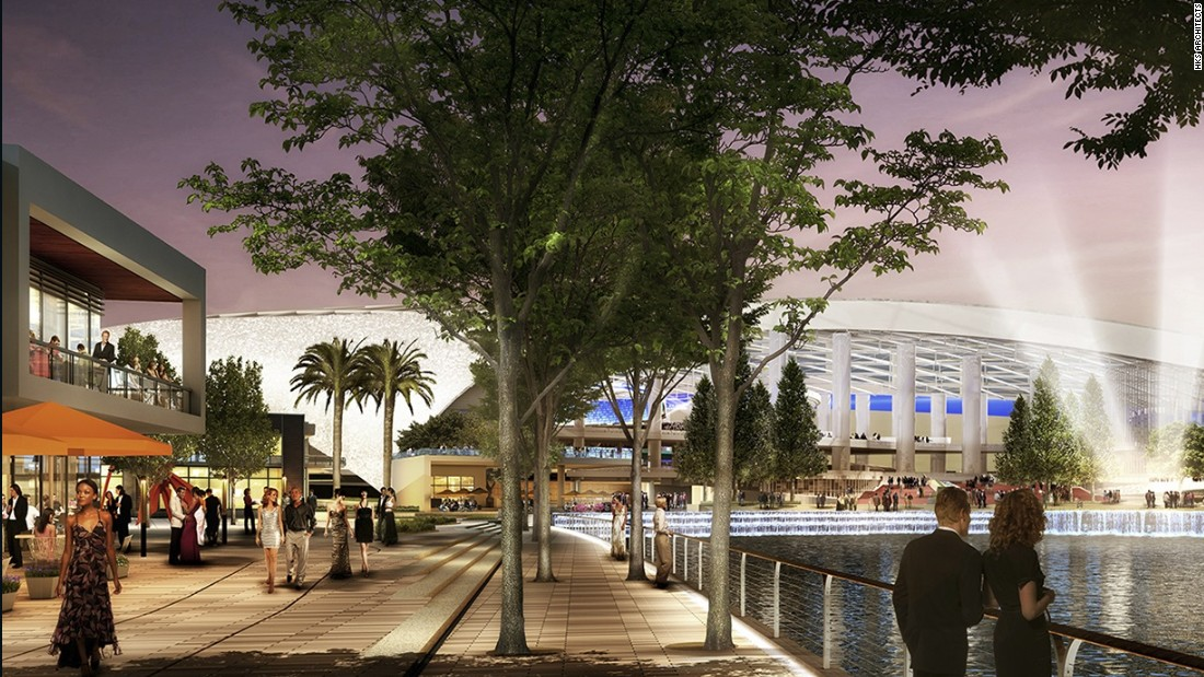 Developers hope to host year-round sports, music, and entertainment events.