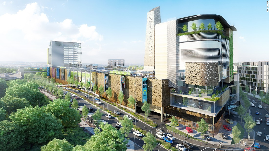 "The <a href=""http://edition.cnn.com/2015/10/02/africa/shopping-malls-africa/"">largest mall </a>in East Africa will open in Nairobi in March. The 62,000 square meter facility will include housing, hotels, office space and -- of course -- extravagant shopping."