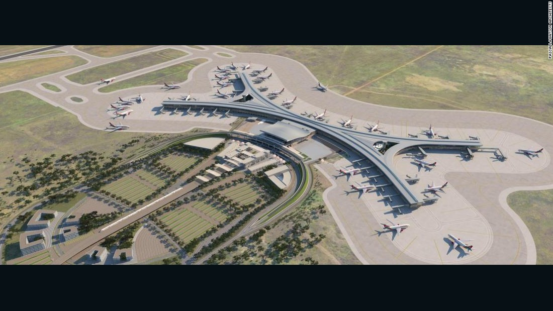how to build a second terminal in simairport