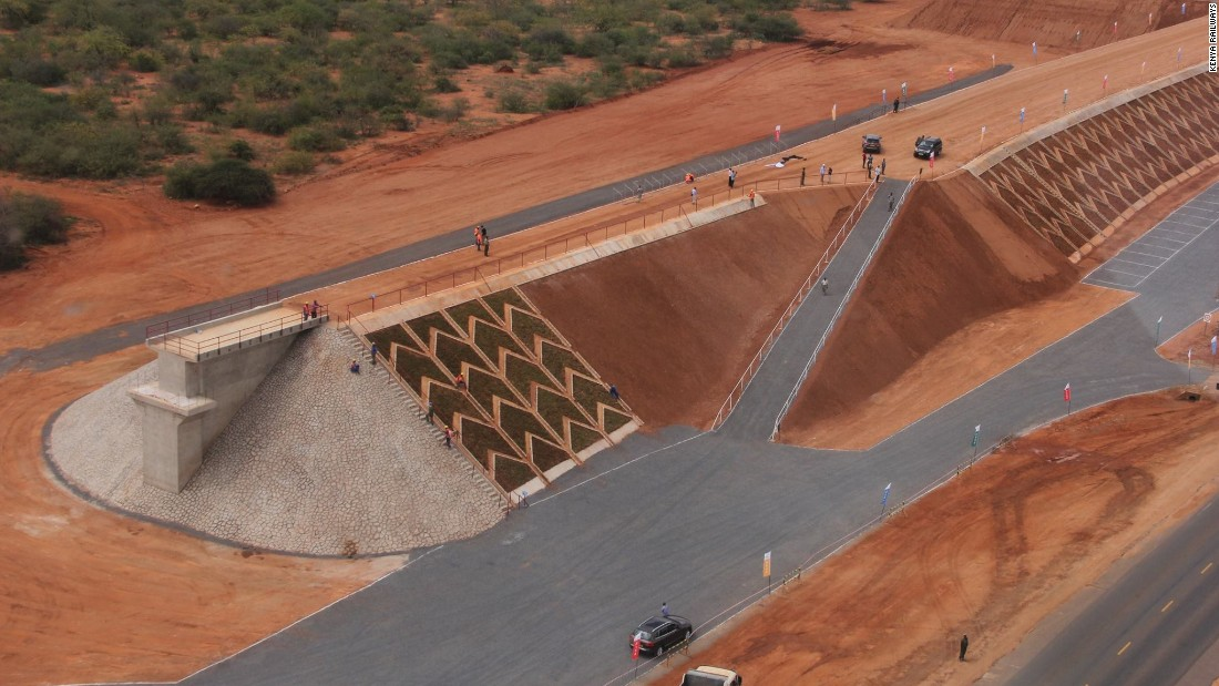 The $4 billion Standard Gauge Railway project connecting Kenyan capital Nairobi with port city Mombasa is expected ot be operational this year.