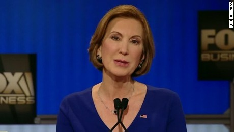 Fiorina slams Trump, Clinton