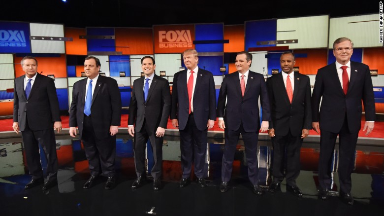 Fox Business GOP debate in 90 seconds