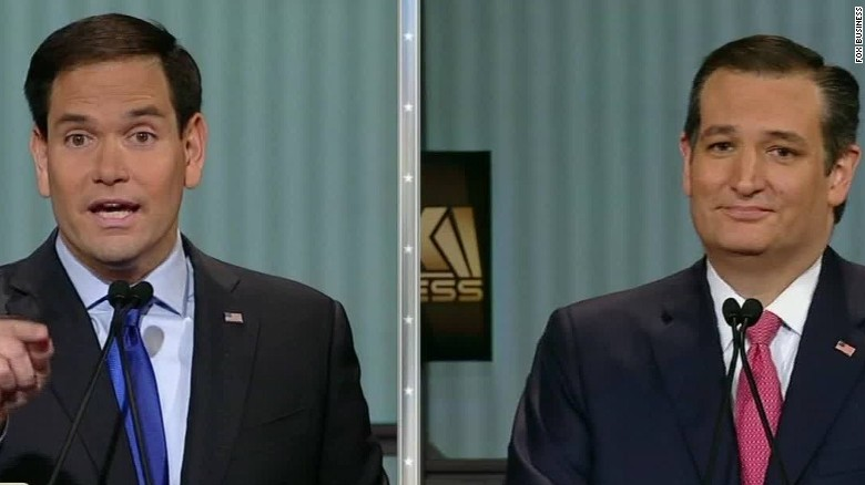 Rubio to Cruz: We all saw you flip your vote