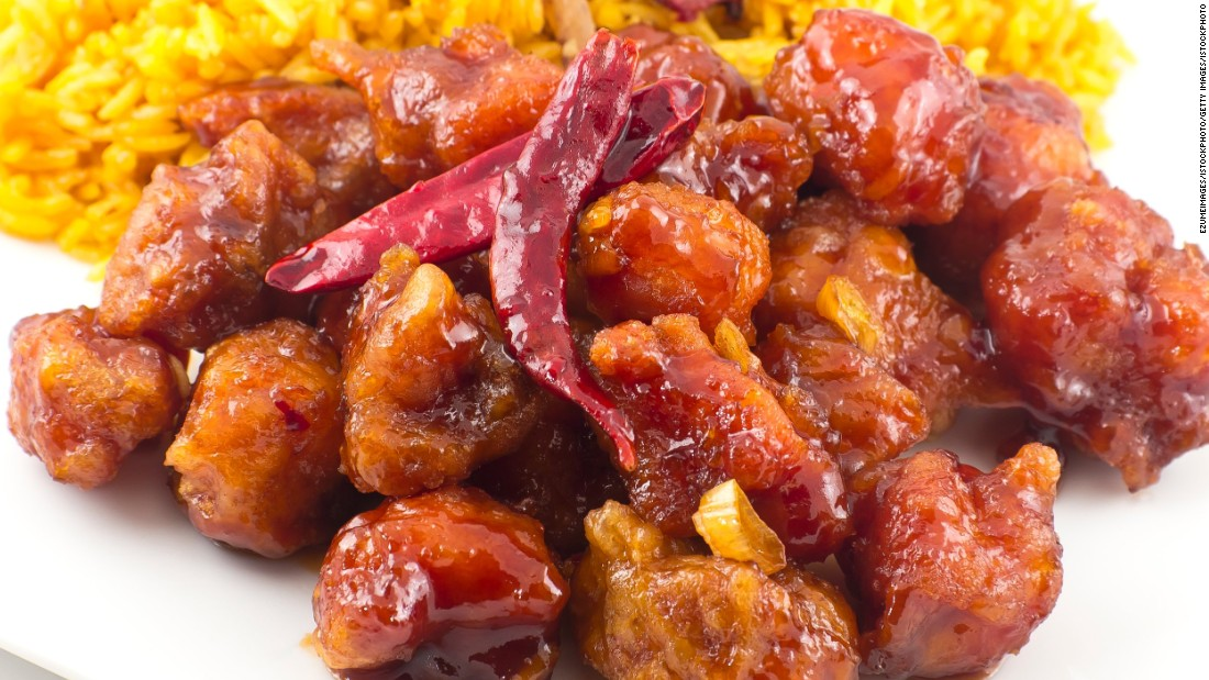 Many diners in China wouldn't recognize General Tso's chicken (pictured), an American-Chinese favorite. But click on for a gallery of dishes Chinese people miss most when traveling abroad.