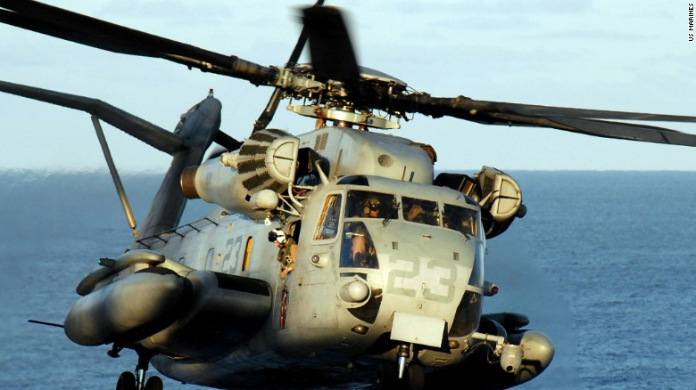 12 Marines go missing after 'routine' training mission