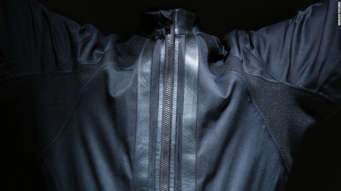 In addition to the space suit and boot, Y-3 and Virgin Galactic are working on a third item: a space jacket.