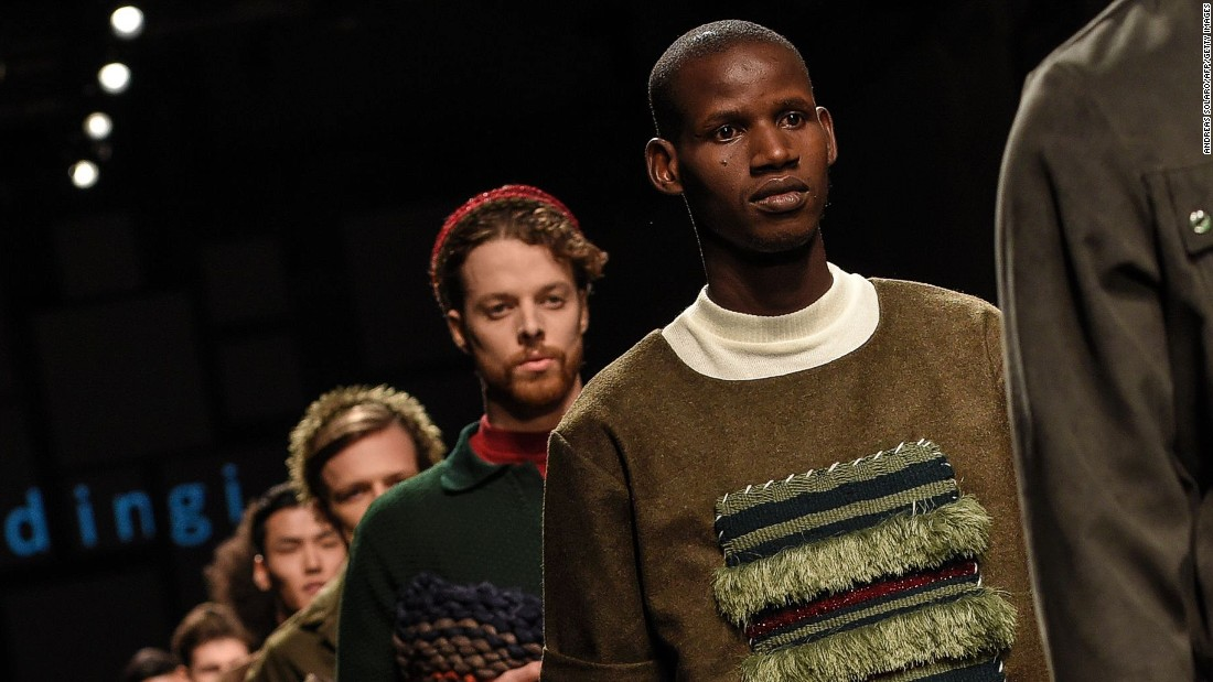 They were hosted at reception centers in the Bologna district run by the Italian organisation Lai-momo.<em>A creation for fashion house Lukhanyo x Nicholas.</em>