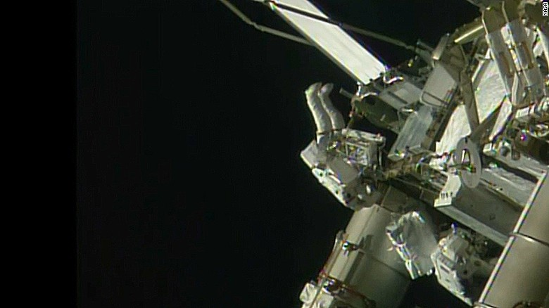Tim Peake became the first British citizen to go on a spacewalk.