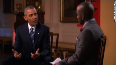 president obama youtube interview trump bash sot tsr_00002318
