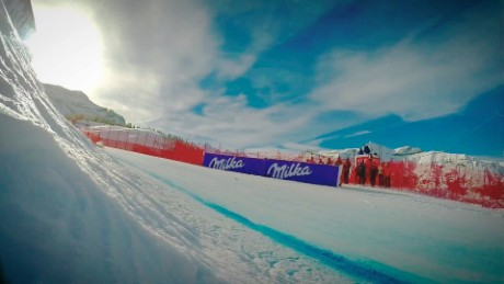 The challenges of putting a ski race on TV