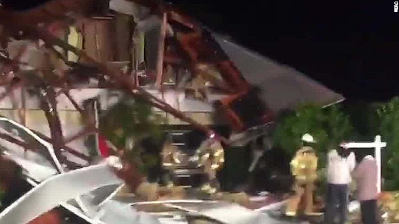 Death and destruction as tornado hits Florida