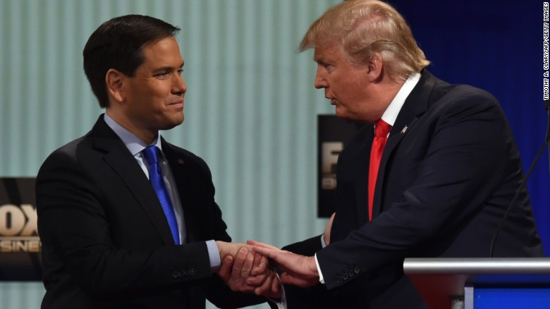 Rubio apologized to Trump for 'small hands' taunt