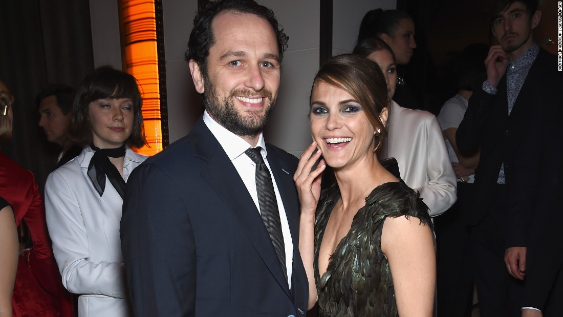 """Matthew Rhys and Keri Russell are reportedly the parents of their first child. <a href=""""http://celebritybabies.people.com/2016/05/30/keri-russell-matthew-rhys-welcome-first-child-together/"""" target=""""_blank"""">People reports</a> that Russell gave birth in May 2016. No word yet on the sex or name of the baby. The real-life couple star as 1980s Soviet spies in FX's """"The Americans."""""""