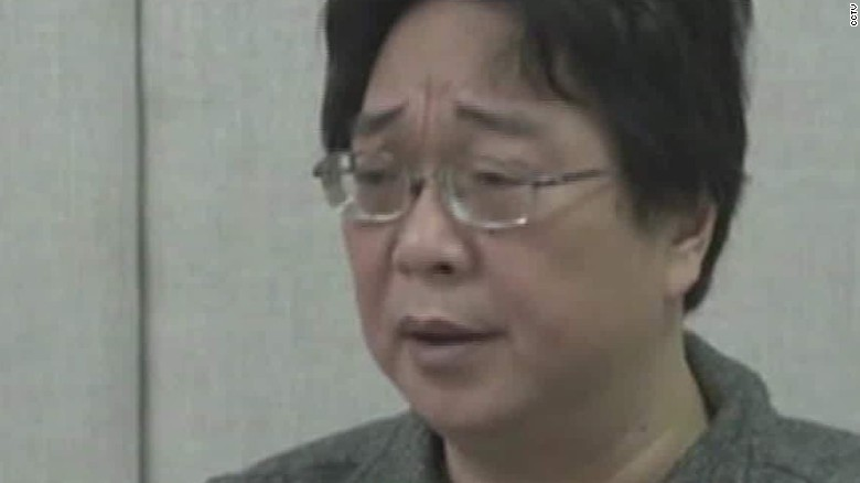 Missing Hong Kong bookseller appears on Chinese TV