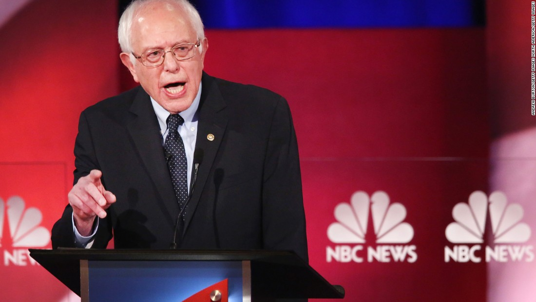 "Sanders angrily rejected Clinton's claims that his plans would result in the gutting of Obamacare, saying that he wanted to build on the achievements of the current president, not overturn them. ""No one is tearing this up, we are going to go forward,"" Sanders said, his voice rising in anger. ""That is nonsense."""