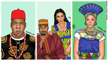 Kim and Kanye as you've never seen them before