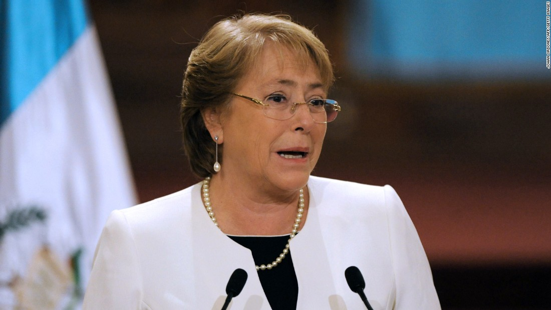 Michelle Bachelet is the President of Chile, having served her current term since March 11, 2014. She previously was President from 2006 to 2010, becoming the first woman in Chile to hold the position.