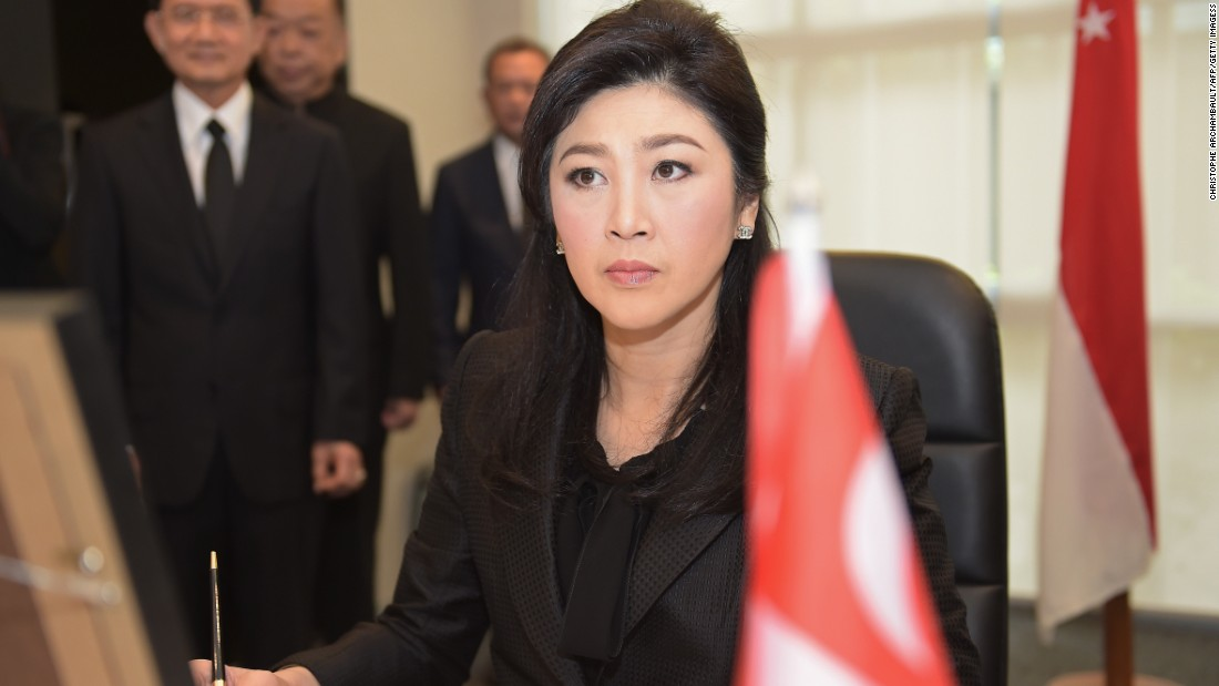 Yingluck Shinawatra, 48, is a businesswoman and the former Prime Minister of Thailand. She was dismissed from office in 2014 for alleged abuse of power.
