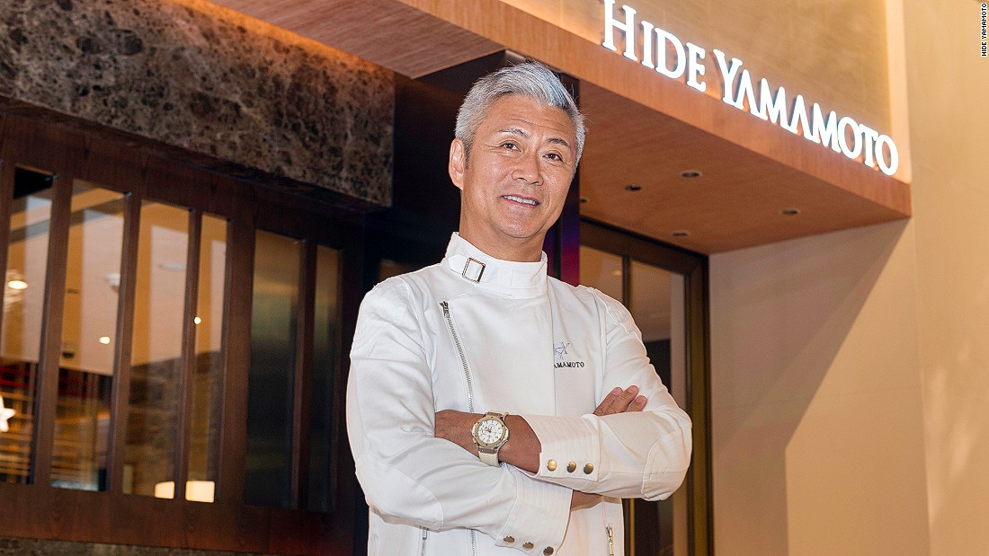 The man behind this new Macau restaurant is Japanese-born, Italian- and French-trained chef Hidemasa Yamamoto.