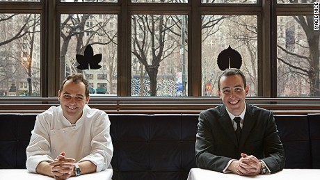 Daniel Humm and Will Guidara are behind New York's three-Michelin-star Eleven Madison Park.